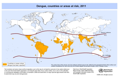 Dengue Fever Map